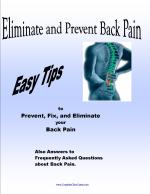 Prevent Back Pain E-book
